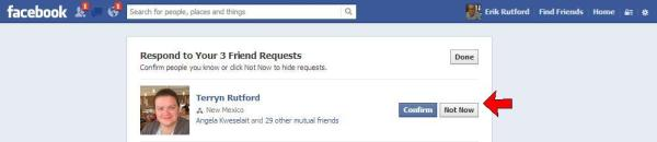 ignore friend requests